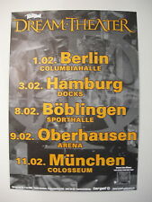 DREAM THEATER CONCERT TOUR POSTER 2002 LIVE SCENES FROM NEW YORK
