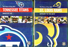 NFL Team Highlights 2003-2004: Tennnessee Titans & St. Louis Rams - 2 DVDs