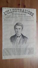 1873 Illustrazione Popolare: Ritratto Félix Archimède Pouchet Naturalista Rouen