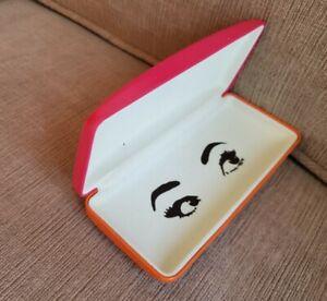 Kate Spade Sunglass Hard Pink & Orange Case