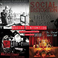SOCIAL DISTORTION-THE INDEPENDENT YEARS: 1983-2004 (LIM BOX SET) 4 VINYL LP NEU
