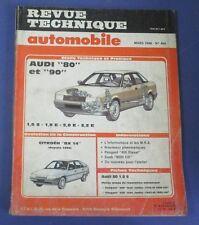Revue technique automobile rta 489 mars 1988 Audi 80 & 90 1.8 S & E 2.0 E 2.2 E