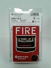 NBG-12LX Notifier Manual Pull Station Addressable Dual Action Lot Of 4