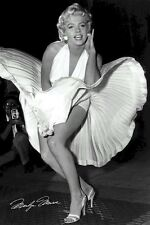 MARILYN MONROE POSTER ~ SIGNATURE DRESS 24x36 Movie Seven Year Itch Icon