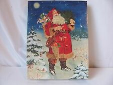 Springbok Father Christmas Jigsaw Puzzle 500 Pieces Santa Claus Sealed New