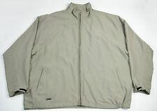 "Levelwear Khaki Jacket ""Durango & Silverton Railroad & Museum"" Men's Size XXL"