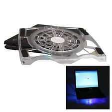 "New 15.4"" Laptop Notebook USB Large Fan LED Light Air Cooling Cooler Stand Pad"