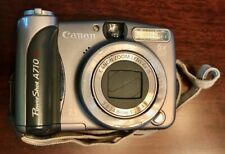 Canon Powershot A710 7.1Mp 6X Zoom Digital Point and Shoot Camera with Case