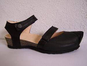 Think Kessy, Pantolette fällt größer aus, schwarz capra rustico für Mittelalter!