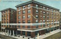 Postcard Colonial Hotel Springfield Missouri