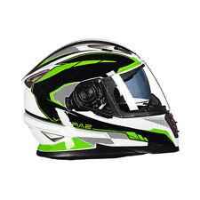 Motorcycle Motocross Modular Full Face Flip Up Double Lens Helmet L#4