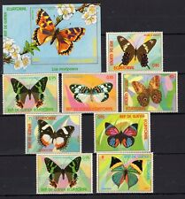 Equatorial Guinea - Butterflies Insects on postage stamps MNH** -  Del.8