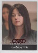 2013 Cryptozoic Revenge Season 1 Flashbacks #FB-02 Amanda and Emily Card 0c3