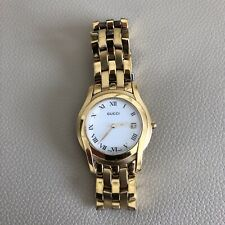 Gucci 18k Gold Plated Watch 100% Genuine