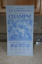 Columbus Dispatch Newspaper Black Printing Plate Jan 4,2003 Ohio State Buckeyes