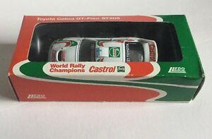 Rare 1994 Castro World Rally Toyota Celiac GT-Four ST205 Die Cast Toy Car 1/48
