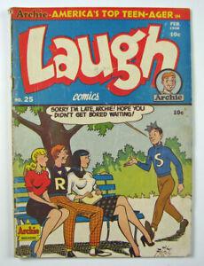 Archie Magazine Laugh Golden Age Comic Book  #25  1947