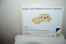 PUZZLE BOIS PUB VOITURE RENAULT STYLE RANCHO   CAR/COCHE NEUF EMBALLE