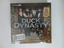 Duck Dynasty Redneck Wisdom Board Game {2013} Family Party- Ages 10 to Adult NIB