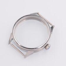 eta 6497/6498 St36 movement mens watch 42mm stainless steel watch Case scrub fit