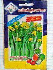 Green flowering pak choy 3,500 seeds Flowering Healthy Vegetable Product Thai