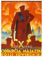 MILITARY POLAND USSR VICTORY PILSUDSKI WARSAW NEW ART PRINT POSTER CC4014