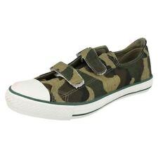 Chaussures verts avec attache auto-agrippant pour garçon de 2 à 16 ans