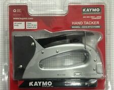 WOOD STAPLER GUN - Hand Tacker KAYMO ECO-2310 METAL