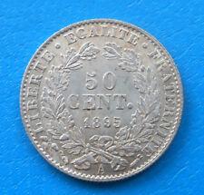 50 centimes Cérès 1895 A PARIS QUALITE EXTRA , cote SUP 45 ,SPL 90 (a)