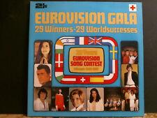 Los ganadores de Eurovisión gala 1956-81 Dbl L.p. Reino Unido presionando casi Perfecto!