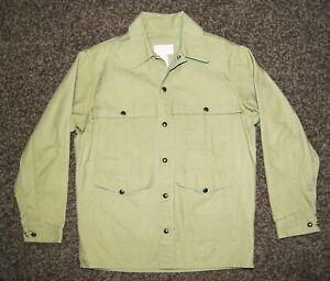 C.C. Filson Field Barn Chore Canvas Jacket Tan Men's Made in USA