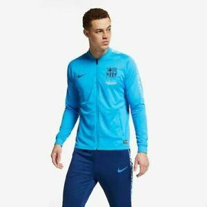 🔥 Nike FC Barcelona 18/19 Dry Squad Tracksuit | Men's XXL 2XL | 894341 482 🔥