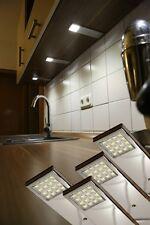LED Unterbauleuchten kaltweiß Chrom komplett Set Küche Möbelbeleuchtung Art2071