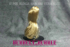 KUMIK 1/6 Scale Female Blonde Hair Wig  2.0 For 1/6 Head Sculpt SHIP FROM USA