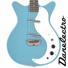 Danelectro STOCK-59-AQUAMARINE Stock 59 Aquamarine Electric Guitar - Brand New