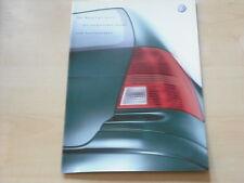 52339) VW Bora Variant - technische Daten & Austattungen - Prospekt 10/2002