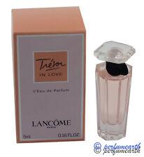TRESOR IN LOVE MINI 0.16 OZ EDP SPLASH FOR WOMEN BY LANCOME NEW IN A BOX
