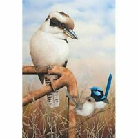 5D Full Drill Three Bird Diamond Painting Embroidery Cross Stitch Kit Gift Decor