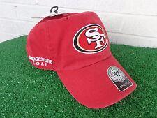 Bridgestone Golf San Francisco 49ers Red SF NFL Team golf Hat Cap Adjustable NEW