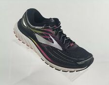 19ace3df3a3 Brooks Women s Glycerin 15 Running Shoes Black PInk US 7 EU 38  1202471