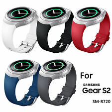 EEEKit 5Pcs Replacement Silicone Wrist Smart Watch Band for Samsung Gear S2 R720