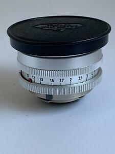 Very Rare Rodenstock-Iloca Heligon  50mm f1.9 IIoca Mount s.no.4314228
