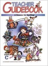 A Reason for Spelling Level C Teacher Guidebook (1972, Paperback, Teacher's Edi…