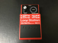 Boss RC-1 Loop Station Looper Guitar Effects Pedal, Red