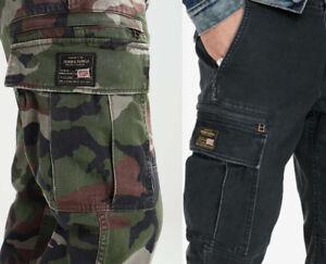 Denim Supply Ralph Lauren Military US Army American Flag Cargo Field Slim Pants