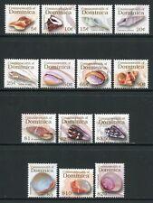 Dominica 2006 Muscheln Shells Meerestiere Freimarken 3765-3778 Postfrisch MNH