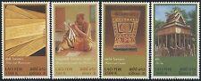 LAOS N°1520/1523** Manuscrits en feuille de palmiers  2003,  Sc#1594-1597 MNH