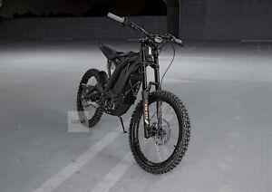 Sur Ron eBike X Bike Black Edition Belt  x260 Only 2 KM 2021 electric motorcycle