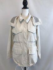 New Madewell Womens Jacket Sz 6 Stone Pockets