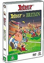 Asterix In Britain DVD - Genuine Region 4 - New Sealed - French